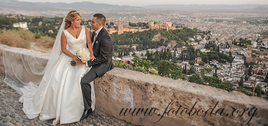 Wedding Photographer in Granada (Spain) by FotoBoda